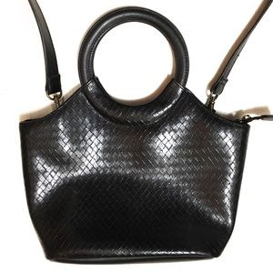 RELIC black patent leather look handbag, purse